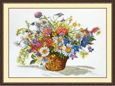 Набор для вышивания Овен 862 Луговые цветы