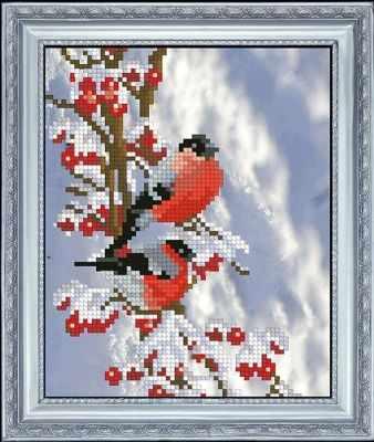 Набор для вышивания Краса и Творчество 61015 Вестники зимы 1