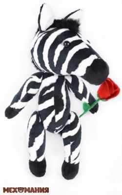 Набор для изготовления игрушки Мехомания ММ-014 Африканская зебра - игрушка