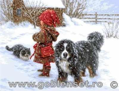 Набор для вышивания Goblenset 0994 Зимние радости