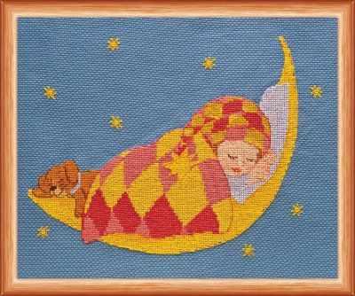 АН-011  Спи, мой сынок  - Наборы для вышивания «Абрис-Арт»