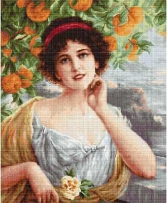 G546 Красавица под апельсиновым деревом (Luca-S)