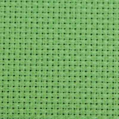 Канва К04 Аида зеленый 50*50 14ct 55/10 кл.
