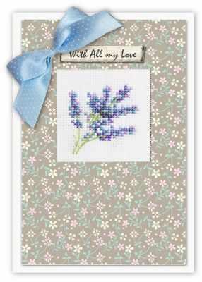 Набор для вышивания Luca-S (S)P-45 Набор для изготовления открытки