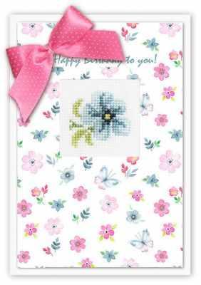 Набор для вышивания Luca-S (S)P-44 Набор для изготовления открытки