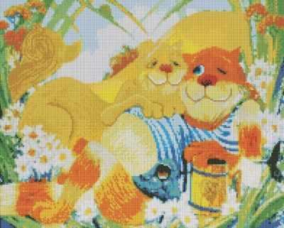 240-ST Идилия  мозаичная картина (Белоснежка) - Мозаика «Белоснежка»