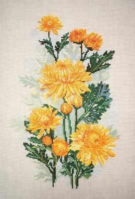 04.004.06 Желтые хризантемы (МИ)