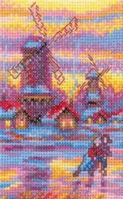Набор для вышивания РТО EH309 Holland Landscape