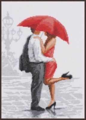 11.007 Красный зонтик (Палитра)