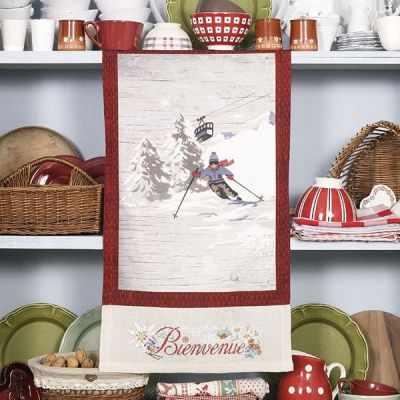 TTSL/TEN Полотенце «Лыжню!» (ПВ) - Наборы для вышивания «Парижские Вышивальщицы»
