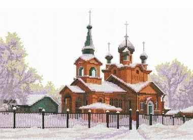 0053 Церковь Святого Александра (Nitex) - Наборы для вышивания «NITEX»