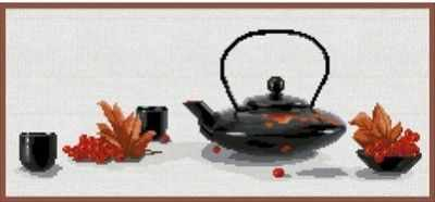 А-0011 Рябиновый чай (Nitex) - Наборы для вышивания «NITEX»