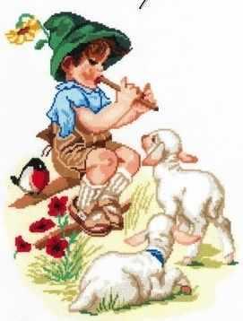 Набор для вышивания Nitex 0218 Пастушок