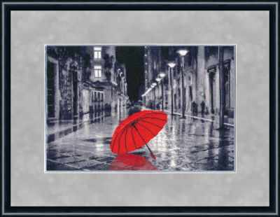 Фото - Набор для вышивания Золотое Руно ГМ-024 Красный зонтик. Городские мотивы. набор для вышивания золотое руно гм 037 булгаковская осень