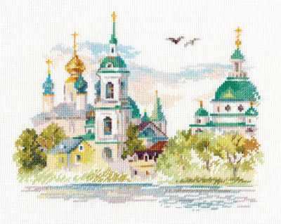 Набор для вышивания Алиса 3-23 Ростов Великий. Спасо-Яковлевский монастырь
