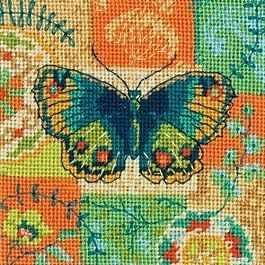 Набор для вышивания Dimensions 7243-DMS Бабочка набор для вышивания dimensions 35267 dms morning flight
