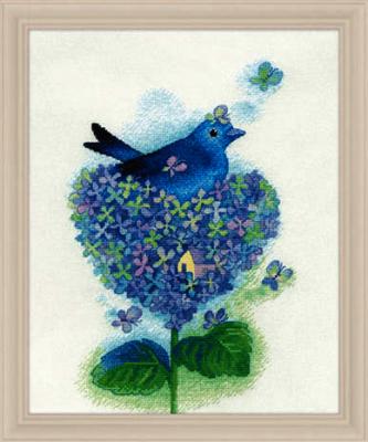 2800606 Птицы в цветах  набор (Xiu Crafts) - Наборы для вышивания «Xiu Crafts»