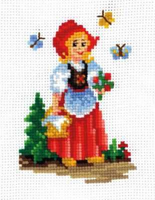 Набор для вышивания Сделай своими руками К-16 Красная шапочка