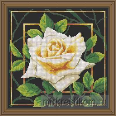 Набор для вышивания Искусница 563 Цветок. Нежность