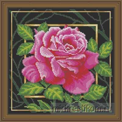 Набор для вышивания Искусница 565 Цветок. Страсть