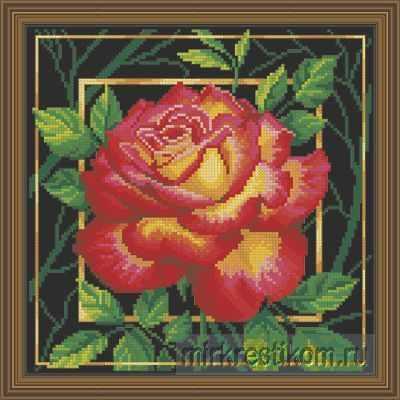 Набор для вышивания Искусница 564 Цветок. Любовь