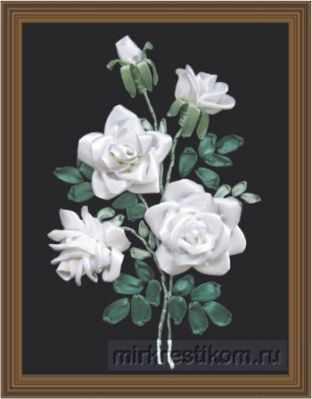 Набор для вышивания Искусница Л-25 Набор Белоснежные розы