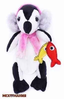 Набор для изготовления игрушки Мехомания ММ-021 Пингвин-рыболов - игрушка