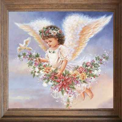 Основа для вышивания с нанесённым рисунком FeDi Р302 День ангела - схема для вышивания (FeDi) turtleneck flora fedi