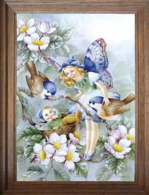 Основа для вышивания с нанесённым рисунком FeDi Р415 Доброе утро - схема для вышивания (FeDi) turtleneck flora fedi
