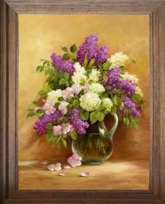 Основа для вышивания с нанесённым рисунком FeDi Р450 Аромат весны - схема для вышивания (FeDi) turtleneck flora fedi
