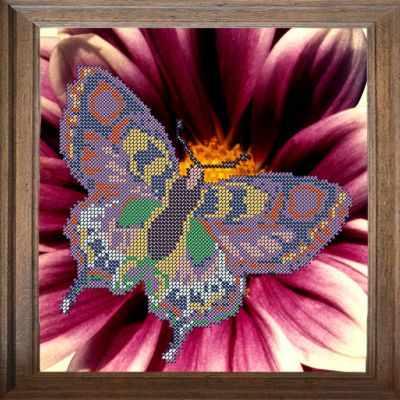 Основа для вышивания с нанесённым рисунком FeDi В304 Бабочка - схема для вышивания (FeDi) turtleneck flora fedi