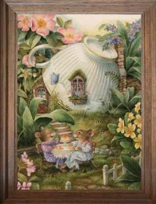 Основа для вышивания с нанесённым рисунком FeDi Р419 Соседки - схема для вышивания (FeDi) turtleneck flora fedi