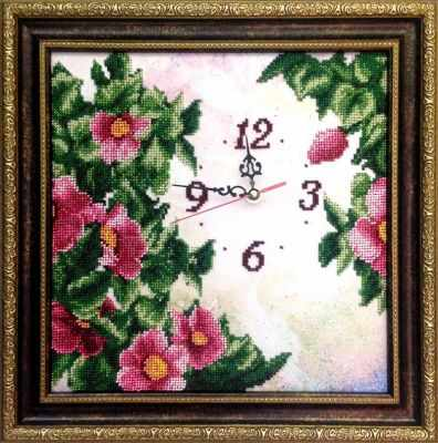 Набор для вышивания FeDi КВ412 Часы Изобилие - набор