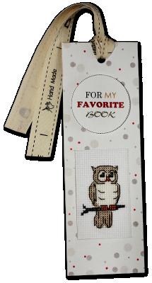 Набор для вышивания Luca-S N-29 Закладка для книг
