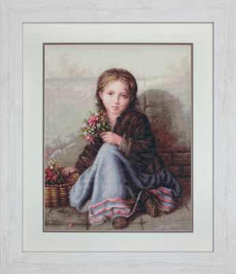 Набор для вышивания Luca-S G513 Портрет девочки