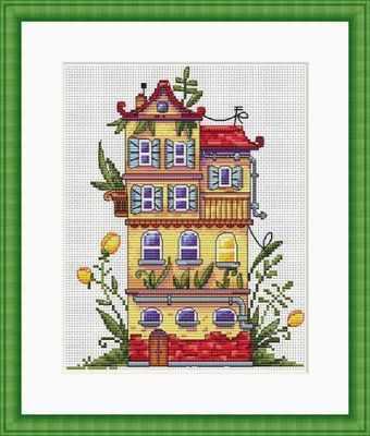 Купить со скидкой К-52 Весенний домик (Мережка)