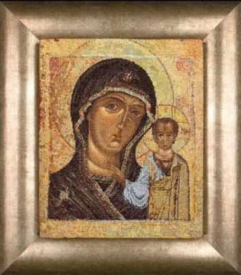 Набор для вышивания Thea Gouverneur 0477A Икона Казанской Божьей матери