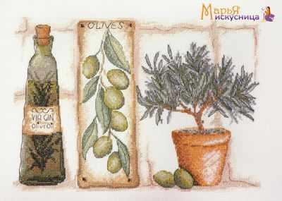 Фото - Набор для вышивания Марья искусница 11.003.05 Олива набор для вышивания марья искусница 16 001 04 дубовые листья