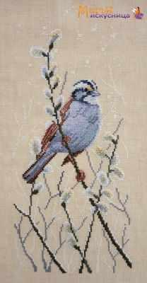 Фото - Набор для вышивания Марья искусница 03.011.08 Ветка вербы набор для вышивания марья искусница 11 002 25 зима