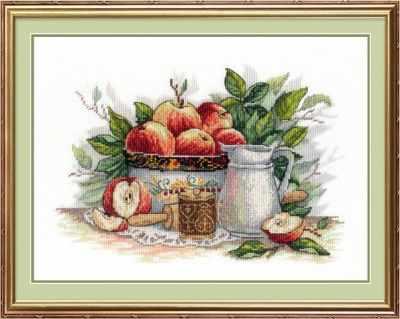 Набор для вышивания МП Студия НВ-537 Яблочный спас