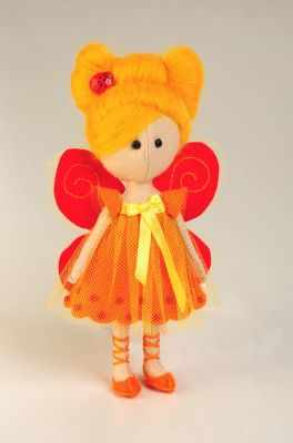 Набор для изготовления игрушки Перловка ПФ-1206 Фея- Бабочка - игрушка (Перловка) цена 2017