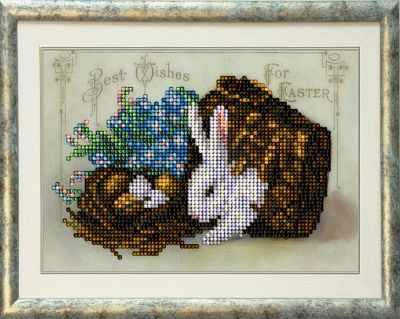 Набор для вышивания Краса и Творчество 80316 Пасхальные истории Б6 андреева и как коровка стала божией пасхальные истории для малышей