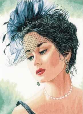 Купить со скидкой PN-0156943 Lady with Hat (Lanarte)