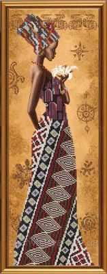 НД 2077 Африканка с лилией