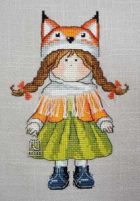 Фото - Набор для вышивания Марья искусница 07.007.08 Лисичка набор для вышивания марья искусница 11 002 25 зима