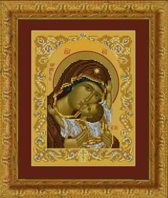 Набор для вышивания иконы Художественные мастерские 1Нбис-011 Кардиотисса (Сердечная) - набор набор для вышивания художественные мастерские 1нбис 023арт метрики малыша набор