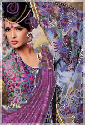 Набор для вышивания Художественные мастерские 1Нбис-009арт Притяжение Индии - набор набор для вышивания художественные мастерские 1нбис 023арт метрики малыша набор
