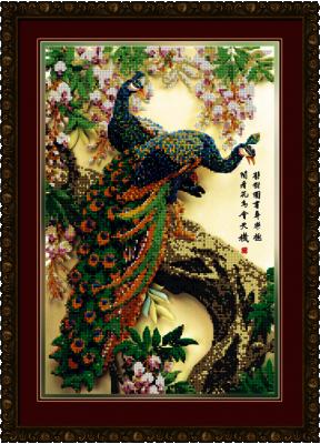 1Нбис-036арт Королевский сад  набор - Наборы для вышивания «Художественные мастерские»