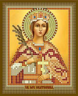 1НИ-004 Св. Екатерина  набор - Наборы для вышивания икон «Художественные мастерские»