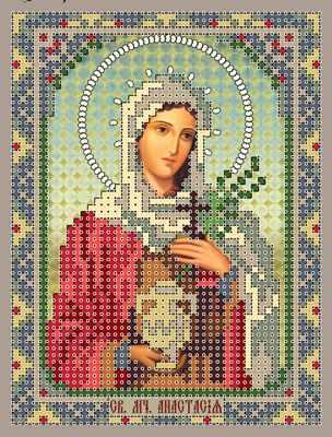 1НИ-023 Св. Анастасия  набор - Наборы для вышивания икон «Художественные мастерские»